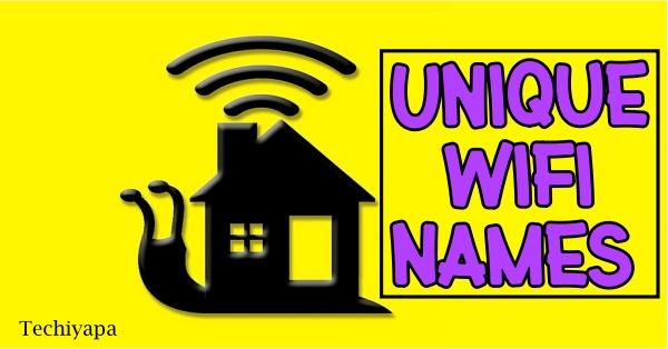 Unique WiFi Names