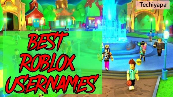 Best Roblox Usernames