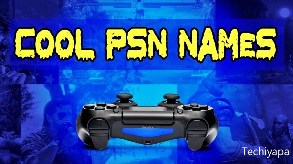 Cool PSN Names