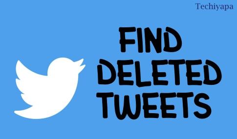 Find Deleted Tweets