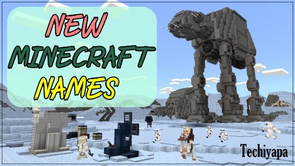 New Minecraft Names