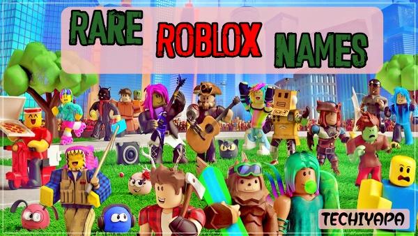 Rare Roblox usernames