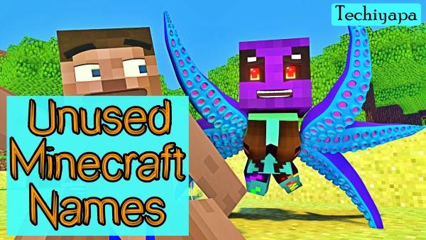 Unused Minecraft Names 2021 (Untaken)