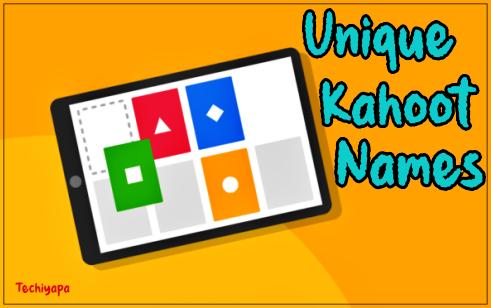 Unique Kahoot Names