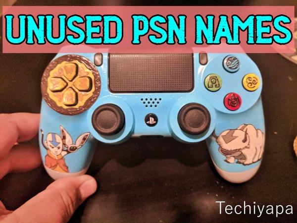 Unused PSN Names