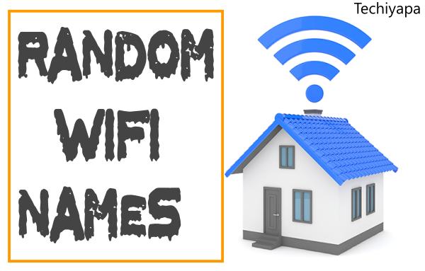 Random Wifi Names