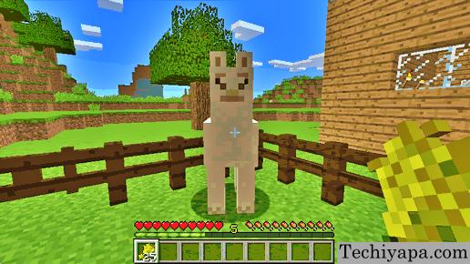 Feed The Llama In Minecraft