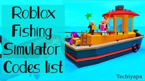 Roblox Fishing Simulator Codes list