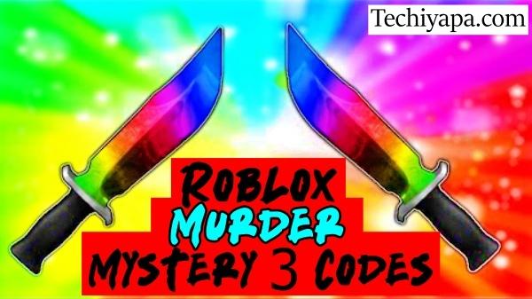 Roblox Murder Mystery 3 Codes