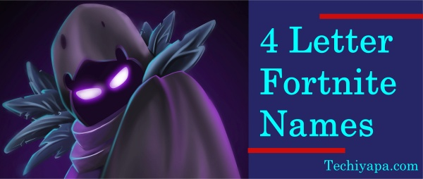 4 Letter Fortnite Names