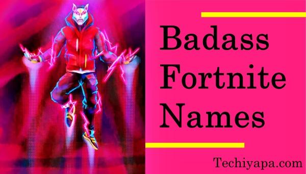 Badass Fortnite Names