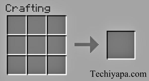 Crafting Menu Minecraft