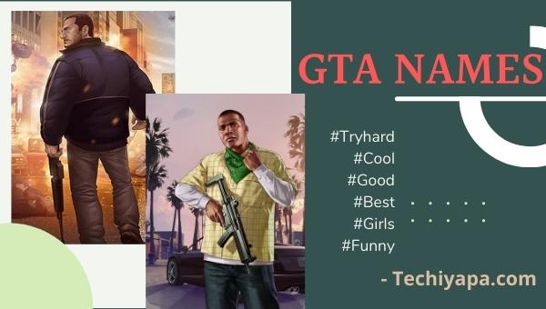 GTA Tryhard Names