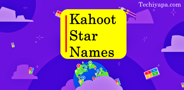 Kahoot Star Names