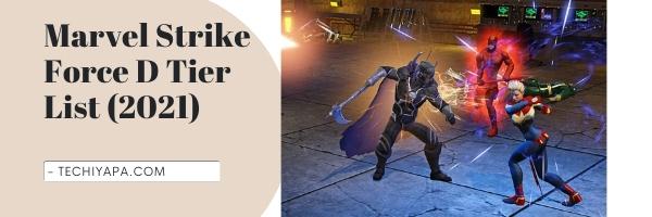 Marvel Strike Force D Tier List (2021)