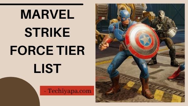 Marvel Strike Force Tier List