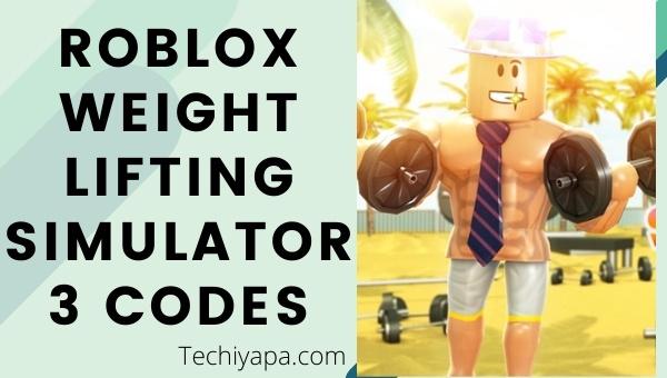 Roblox Weight Lifting Simulator 3 Codes