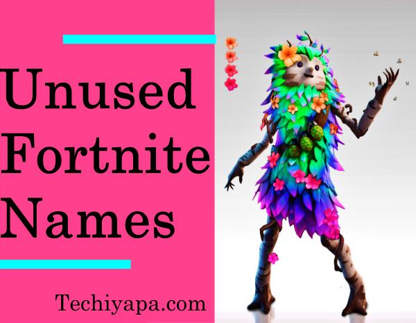 Unused Fortnite Names