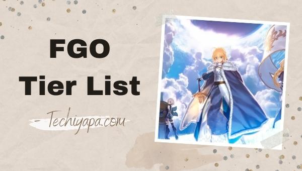 FGO Tier List