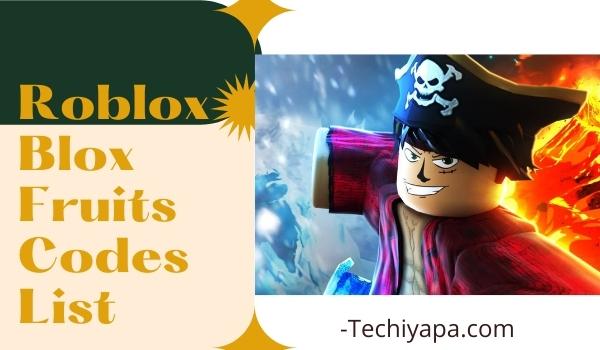 Roblox Blox Fruits Codes List